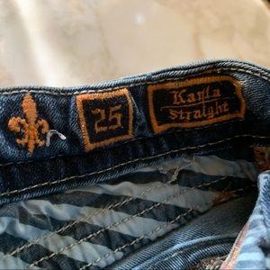 Rock Revival Jeans - ROCK REVIVAL JEANS. KARLA STRT. SIZE 25